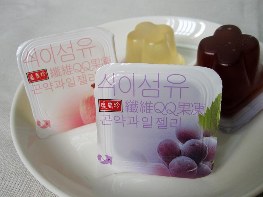 盛香珍 纖維QQ果凍 (綜合口味) 300g(半斤)【合迷雅好物商城】