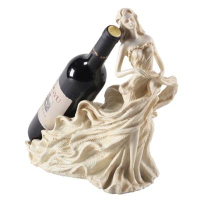 紅酒架 工藝品 樹脂擺件-歐式典雅栩栩如生居家擺飾4款73i6【獨家進口】【米蘭精品】