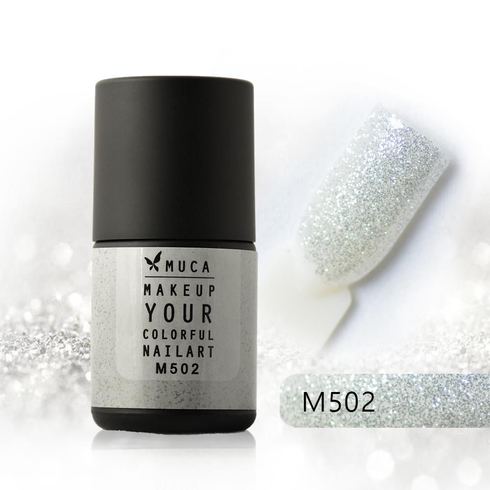 M502-迷人香檳-沐卡光撩凝膠指甲油(8MT218)