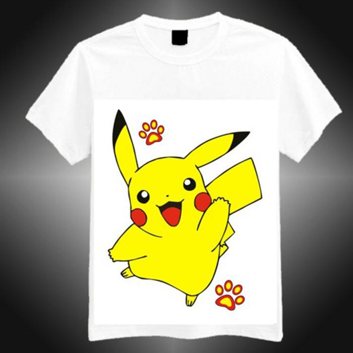 動漫享世界【DS010】動漫周邊衣服皮卡丘 精靈寶可夢 神奇寶貝 Pokémon短袖卡通動漫T恤(預購款10天)