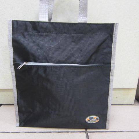 ~雪黛屋~BOLIT 才藝袋 手提袋 防水尼龍布材質 可放A4資料夾 萬用簡單手提袋 BL184 黑
