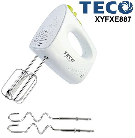 TECO 東元 攪拌器 XYFXE887 ◤內含304不鏽鋼攪拌棒與麵糰鉤◢