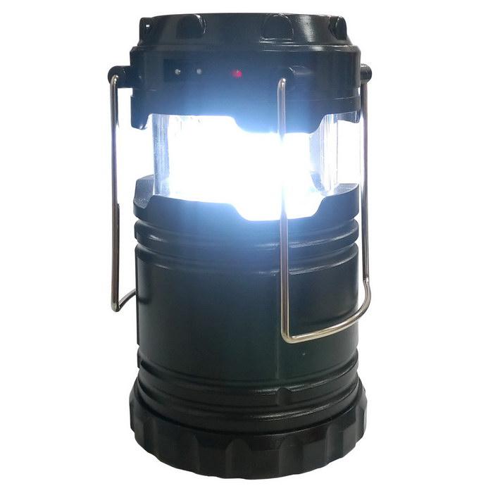 多功能 太陽能充電LED手提照明燈/露營燈