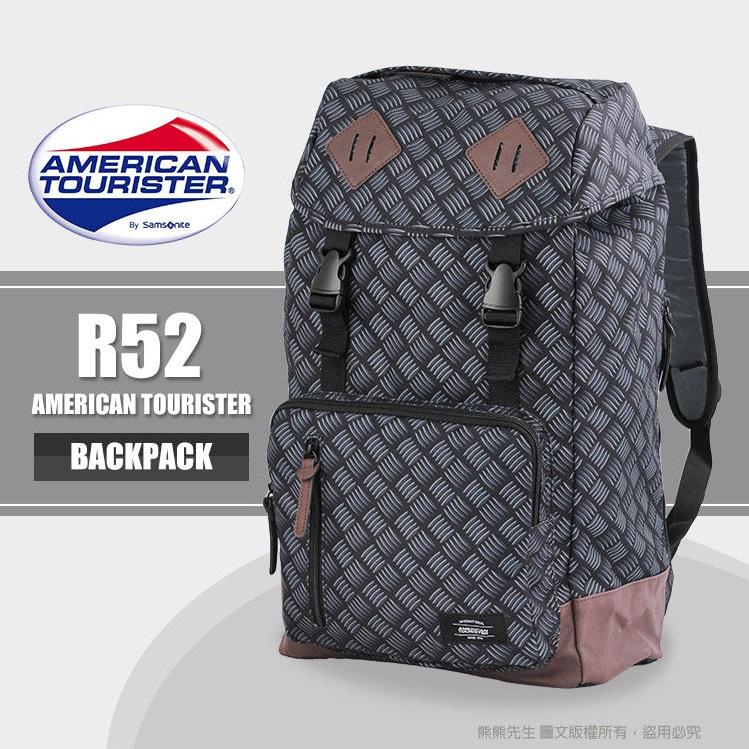 《熊熊先生》Samsonite新秀麗American Tourister 筆電後背包 MOD系列 14吋 大容量 雙肩包 R52*018
