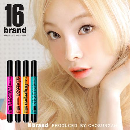 韓國 16 brand FINGERPEN 一筆搞定 FA唇彩x頰彩系列 5ml 氣墊筆 氣墊手指筆 唇彩 腮紅 【B061931】