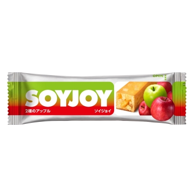 【鄉野情戶外專業】 SOYJOY |日本|  大豆營養棒/水果營養棒 健康零食 行進間糧/4987035 《蘋果》