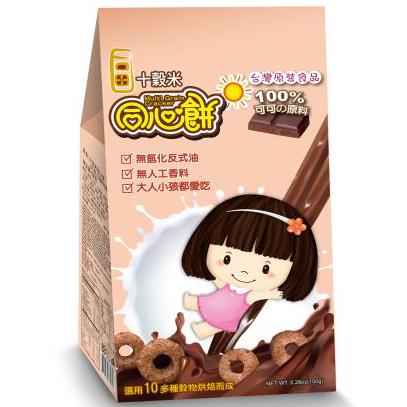 十榖米-同心餅(可可)150g(6包入)