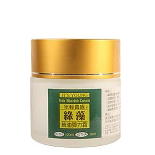 年輕貴族綠藻 絲油彈力霜(優格/綠茶)120ml