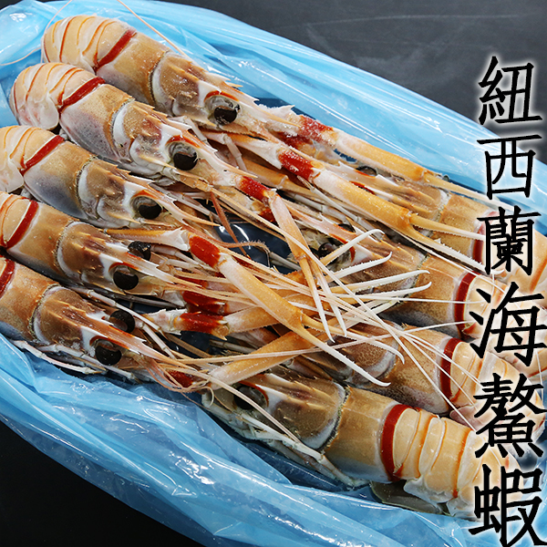㊣盅龐水產◇紐西蘭海螯蝦G1◇ 海螯蝦 蝦刺身 零$2310元/kg, 2kg/盒歡迎批發