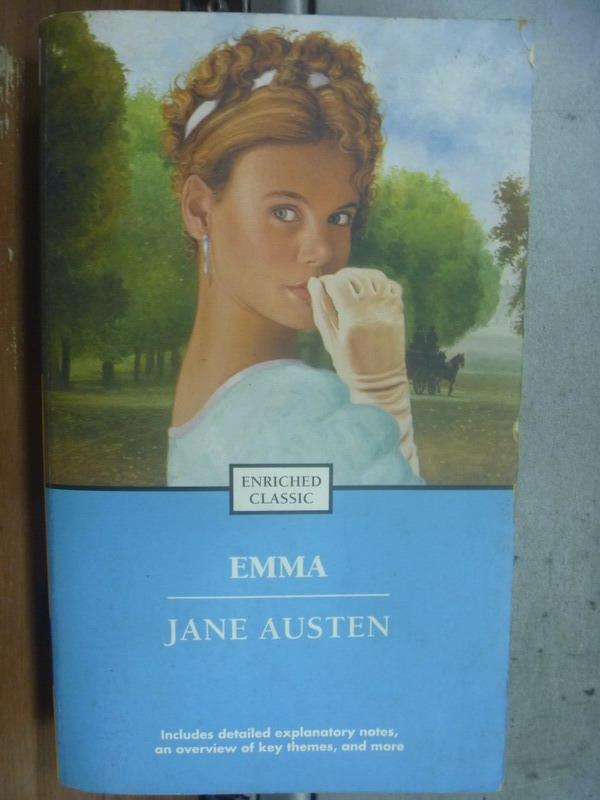 【書寶二手書T7/原文小說_MOC】Emma_Jane Austen