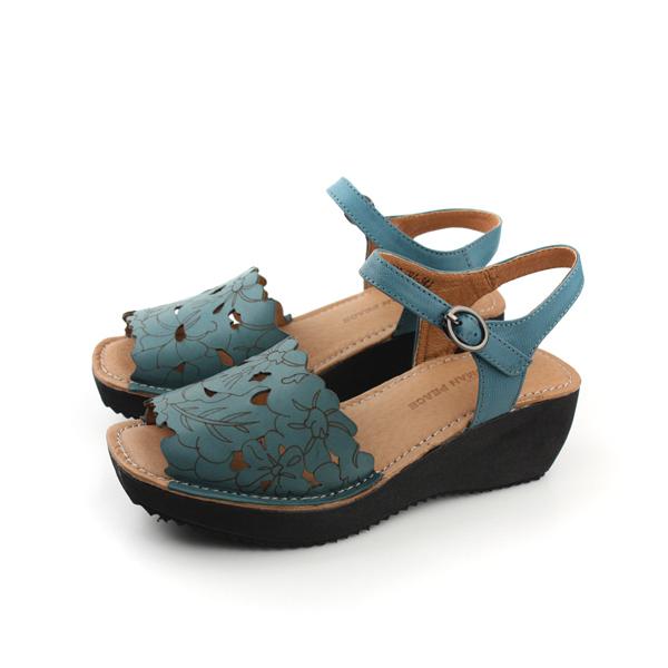 HUMAN PEACE 涼鞋 藍 女款 no118