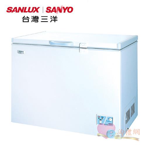 淘禮網 SANLUX 台灣三洋  326公升環保冷凍櫃 SCF-326T