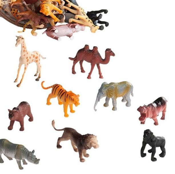 【淘氣寶寶】【美國B.Toys感統玩具】美國 TERRA 野生動物