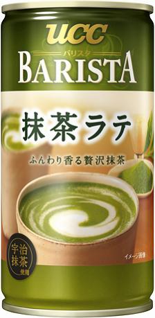 UCC香醇抹茶拿鐵飲料 185g