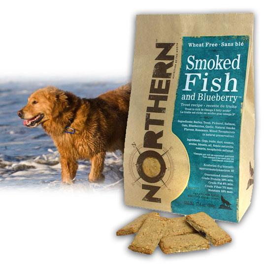 【Northern】加拿大天然手工餅乾《煙燻魚藍莓》500g