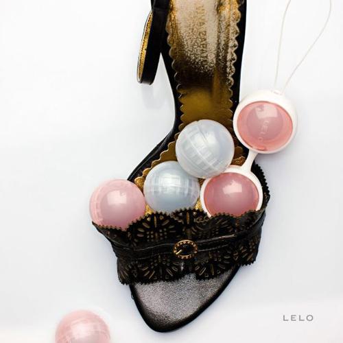 [漫朵拉情趣用品]瑞典LELO*Luna Beads 露娜女性按摩球(聰明球)【經典款】 DM-9361107