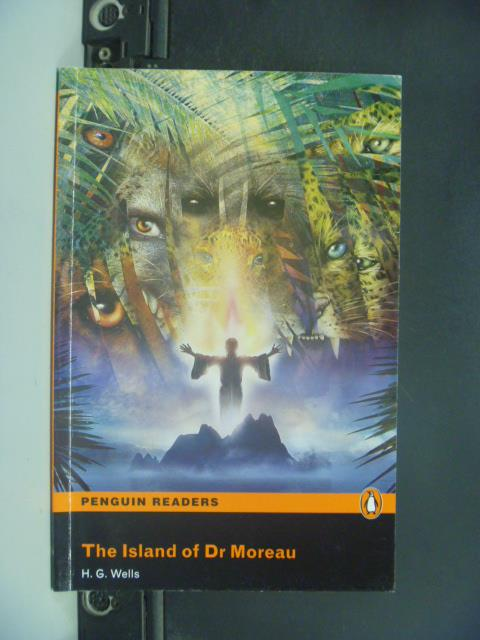 【書寶二手書T3/語言學習_GEE】The Island of Dr Moreau _H.G.Wells