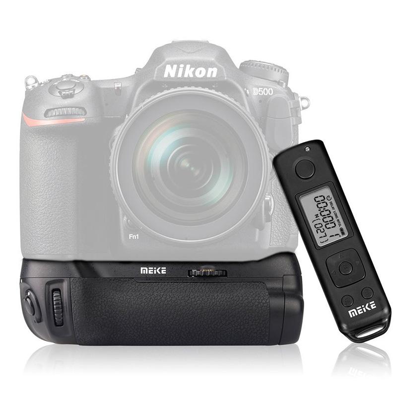 ◎相機專家◎ Meike 美科 MK-D500 PRO 電池手把 送無線遙控器 垂直手把 公司貨 同 MB-D17