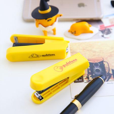 正版蛋黃哥盒裝釘書機(不挑款) 辦公文具 釘書機 三麗鷗 SANRIO【B062450】