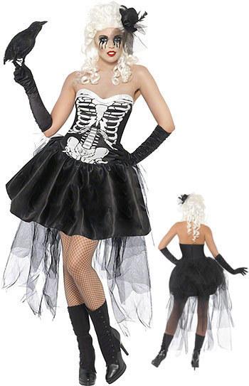 halloween萬聖節骷髏殭屍服裝孤魂幽靈黑夜吸血鬼派對演出服裝
