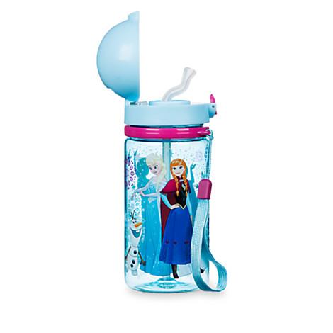 《★美國Disney Store迪士尼官方》Frozen冰雪奇緣 吸管水壺 美國代購 平行輸入 溫媽媽