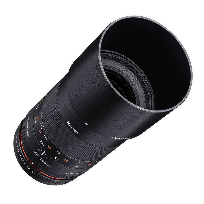 ◎相機專家◎ SAMYANG 100mm F2.8 Macro for Canon EF 手動鏡 正成公司貨