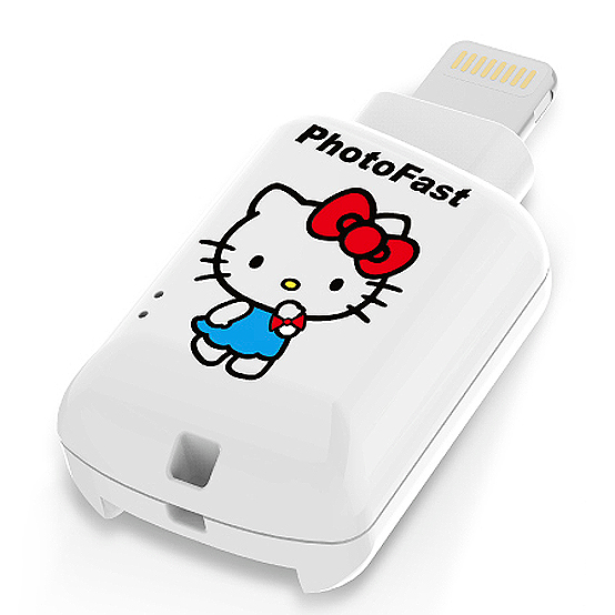 ◎相機專家◎ PhotoFast CR8800 iOS microSD 讀卡機 KITTY 天使白 永準公司貨
