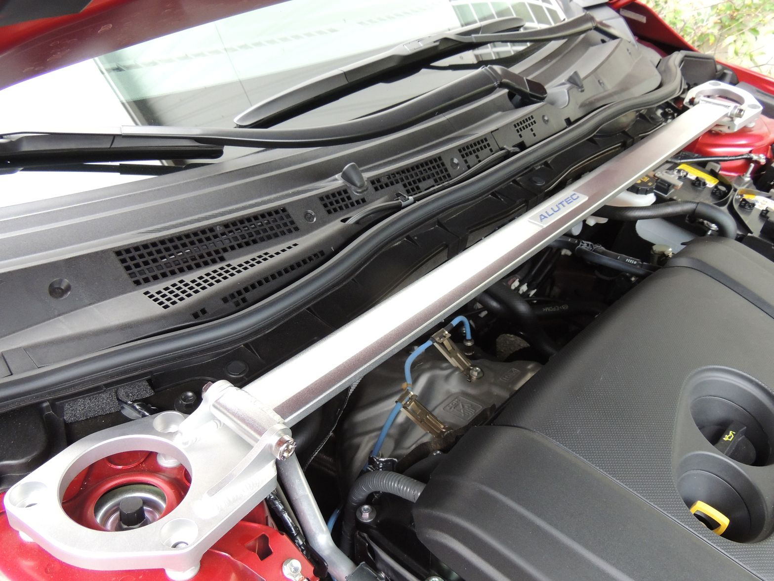MAZDA 汽車引擎室拉桿 for 2014 MAZDA 6 (ALUTEC)