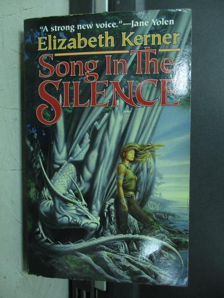 【書寶二手書T4/原文小說_NFA】Song In The Silence_Elizabeth Kerner