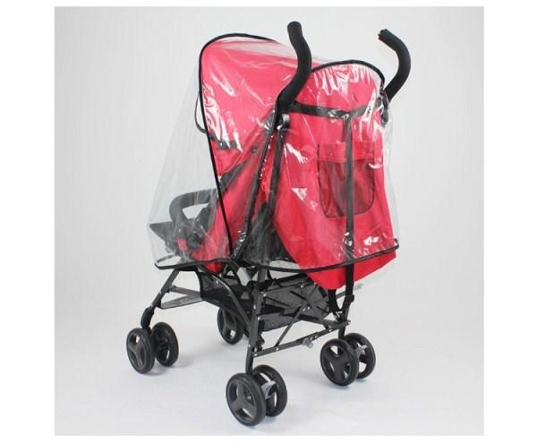 透明立體六面嬰兒手推車透明防雨罩