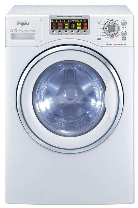 【佳麗寶】-(whirlpool 惠而浦)15公斤滾筒洗衣機 WD15R
