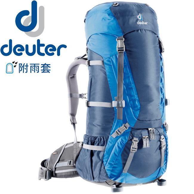 【露營趣】中和 送贈品 德國 deuter 43033(33472) Aircontact 75+10L 拔熱式透氣背包/登山背包/自助旅行背包