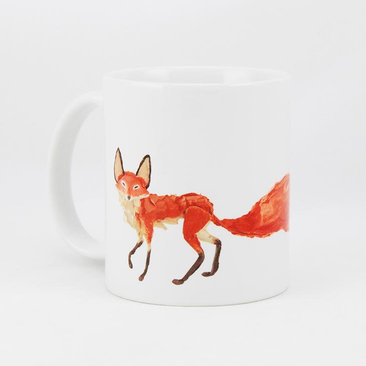 小王子電影版授權 - 馬克杯 / 牛奶杯:【 狐狸的秘密 】