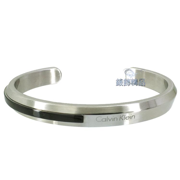【錶飾精品】Calvin Klein CK飾品 優雅都會型男 手環316L白鋼 KJ4MBF2101 全新正品 情人禮品