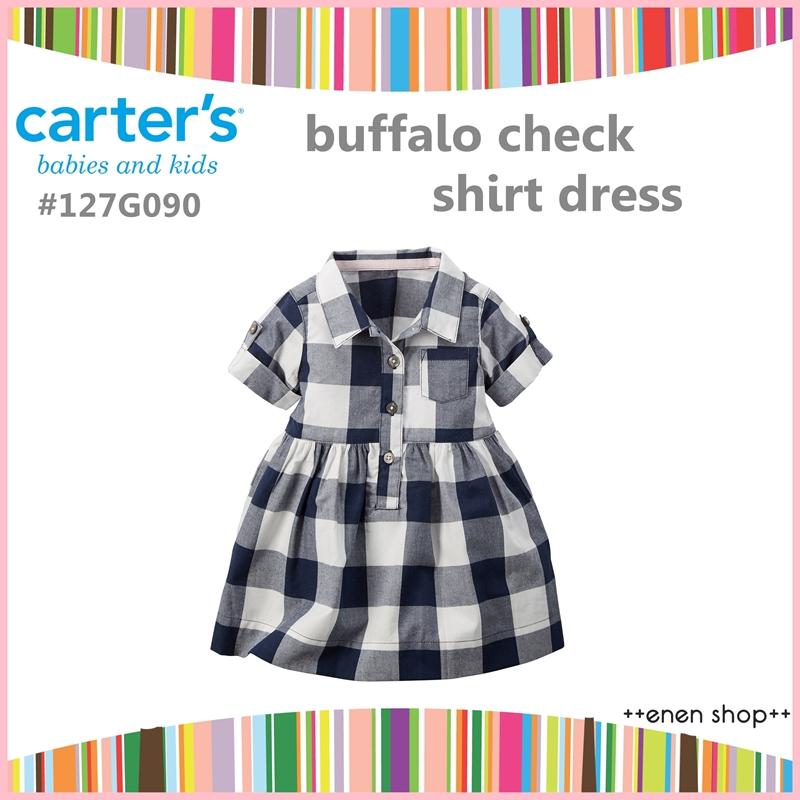 ++enen shop++ Carter's 氣質格紋款小洋裝/小褲褲兩件組 ∥ 12M/18M/24M