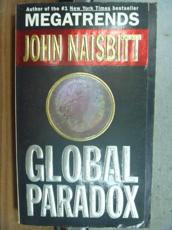 【書寶二手書T8/原文小說_HPL】GLOBAL PARADOX_1994
