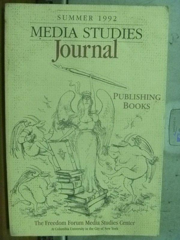【書寶二手書T8/藝術_HJS】Media studies Journal