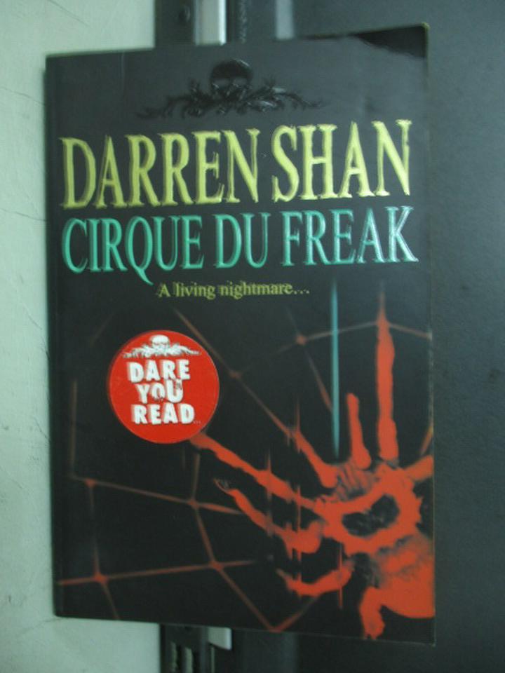 【書寶二手書T7/原文小說_NFE】Cirque Du Freak_Darren Shan