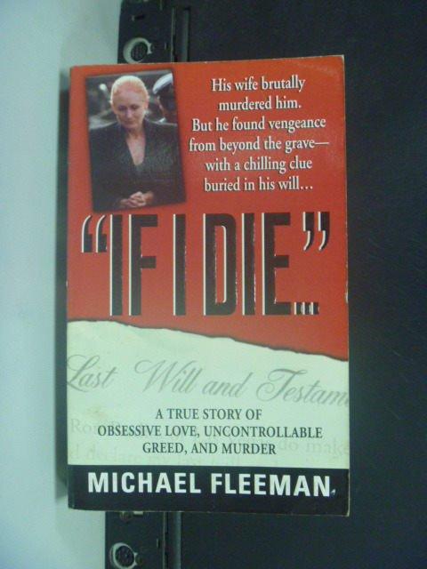 【書寶二手書T6/原文小說_KMG】If I Die_Fleeman, Michael