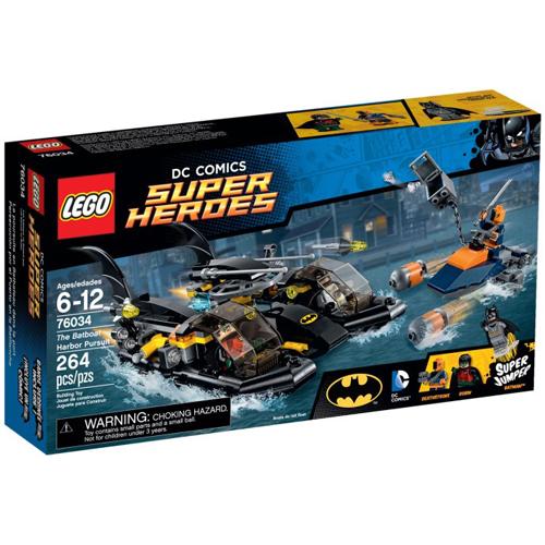 樂高積木LEGO《 LT76034 》2015 年 SUPER HEROES 超級英雄系列 - 蝙蝠船海港追擊