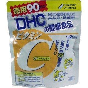日本原裝DHC維他命C 大包裝90日份180粒 - 一九九六的夏天