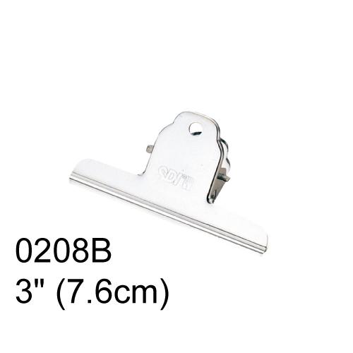 【SDI 手牌 山型夾】3吋 (7.6cm) 0208B 山型夾(12入/盒)