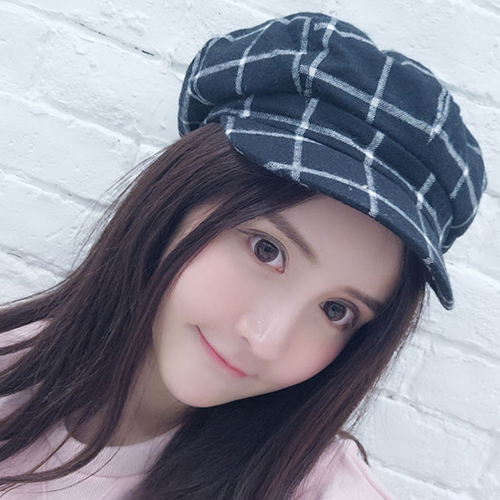 貝雷帽 畫家帽 格紋 八角帽 遮陽 貝雷帽【QI8509】 BOBI  09/01