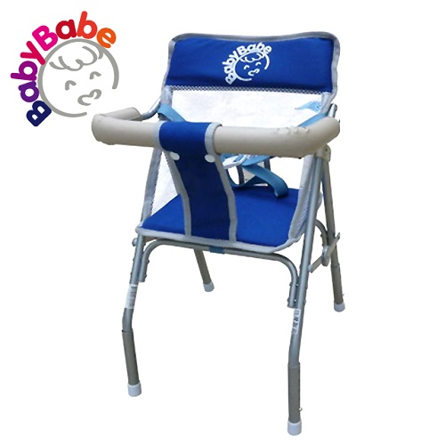 【BabyBabe】升降機車椅/藍