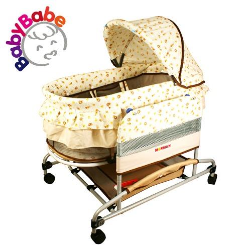 【BabyBabe】手動水平搖床/小獅王