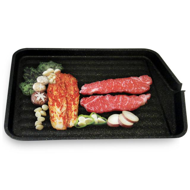 【NANO】Kitchen-Art韓製減脂高手燒烤盤(瓦斯爐用)(KYA-013)