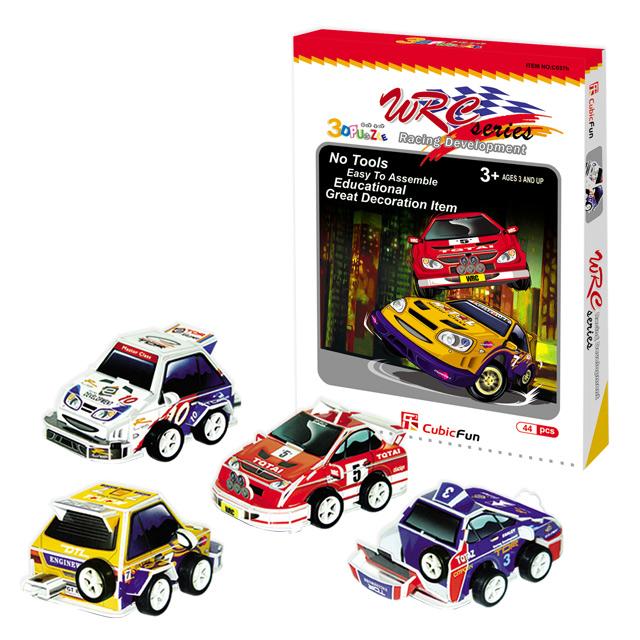 【3D Puzzle】兒童系列-WRC世界拉力賽車