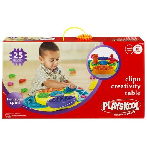 【Playskool 可立寶】益智積木桌
