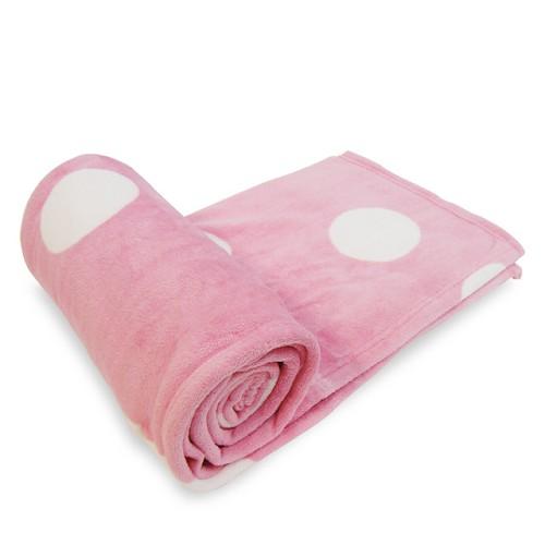 A0486【CARVEN】卡紛珊瑚絨毯-普普粉紅