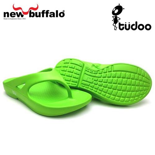 【new buffalo】土豆星球tudoo動態平衡人字拖-格林號/綠